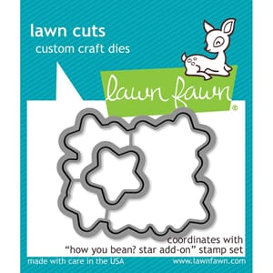 Lawn Fawn: How You Bean? Stars Lawn Cuts Die