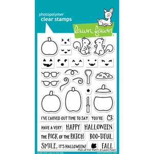 Lawn Fawn: Pick Of The Patch Clear Stamps, 4x6 inch