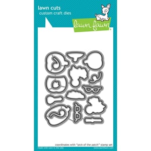 Lawn Fawn: Pick Of The Patch Cuts Custom Craft Die