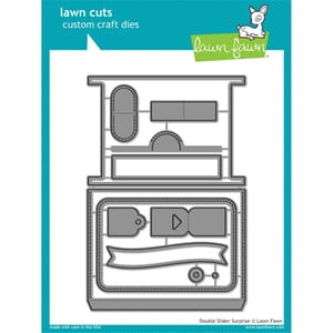 Lawn Fawn: Double Slider Surprise Cuts Custom Craft Die