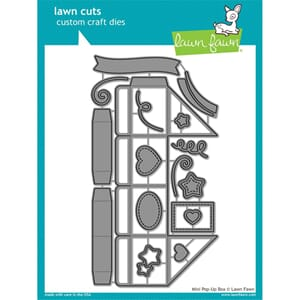 Lawn Fawn: Mini Pop-Up Box Cuts Custom Craft Die