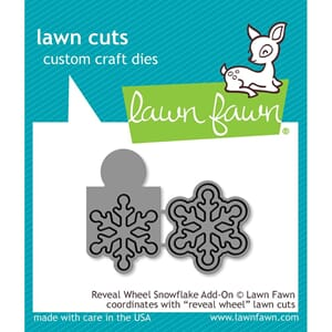 Lawn Fawn: Reveal Wheel Snowflake Add-On Craft Die