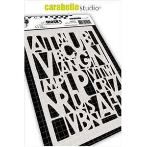 Carabell: Mask A6 - Letters in boxes by Alexi