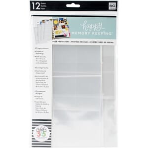 Me & My Big Ideas: Happy Planner Big Page Protectors, 12/Pkg