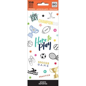 Mambi Stickers - Sports, 358/Pkg