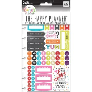 Happy Planner: What's for dinner Stickers 5/Sheets