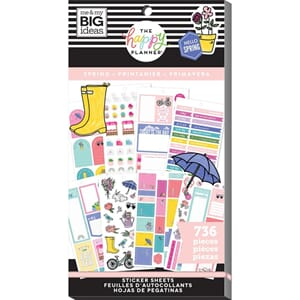 Create 365 Happy Planner - Spring Sticker Value Pack