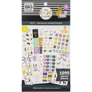 Create 365 Happy Planner - Pets Sticker Value Pack