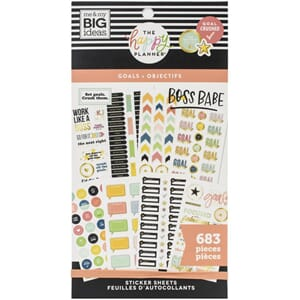 Create 365 Happy Planner - Goals Sticker Value Pack