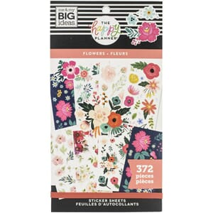 Create 365 Happy Planner - Flowers Sticker Value Pack