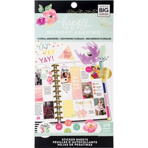 Create 365 Happy Planner Planner - Floral Memories, 578/Pkg