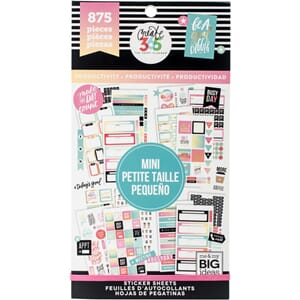 Create 365 Happy Planner - Productivity - Mini, 875/Pkg
