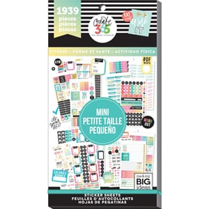 Create 365 Happy Planner Planner - Work It Out Mini, 1939/Pk