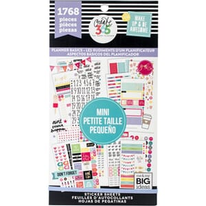 Create 365 Happy Planner Planner - Basics - Mini, 1768/Pkg