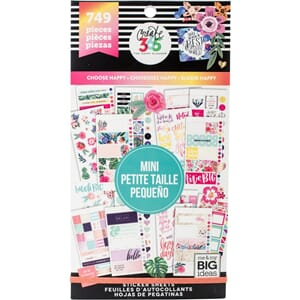 Create 365 Happy Planner - Choose Happy - Mini, 749/Pkg