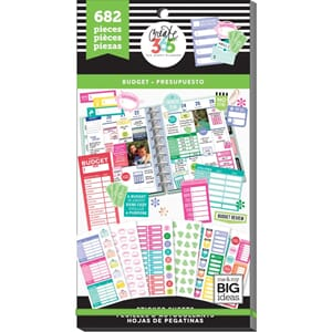 Create 365 Happy Planner - Budget Fill-In Sticker Value Pack