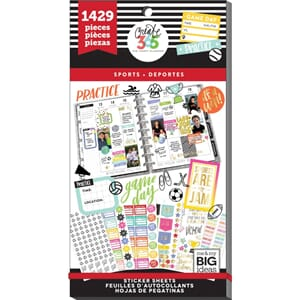 Create 365 Happy Planner - Sports Sticker Value Pack