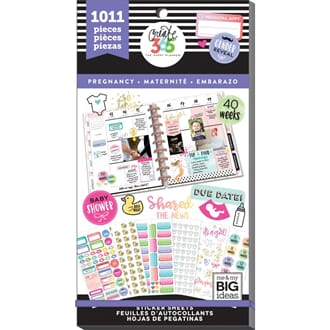 Create 365 Happy Planner - Pregnancy Sticker Value Pack