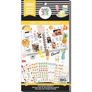 Create 365 Happy Planner - Food Sticker Value Pack