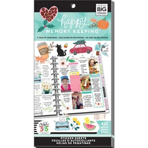 Create 365 Happy Planner - A Year of Memory Value Pack