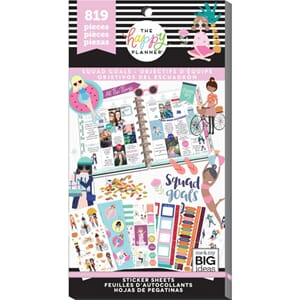Create 365 Happy Planner - Squad Goal Sticker Value Pack
