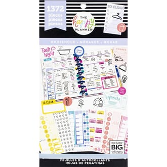 Create 365 Happy Planner - Home Sticker Value Pack