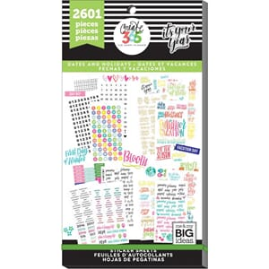 Create 365 Happy Planner - Dates & Holidays Sticker Value Pa