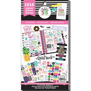 Create 365 Happy Planner - Student Sticker Value Pack