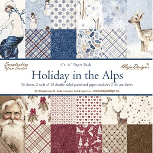 Maja Design: Holiday in the Alps Paper Pack, 36/Pkg
