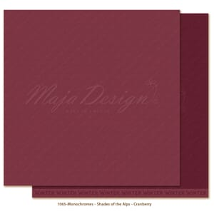 Maja Design: Cranberry - Monochromes Shades of the Alps