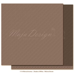 Maja Design: Walnut Brown - Monochromes Shades of Miles