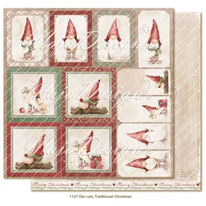 Maja Design: Die cuts - Traditional Christmas