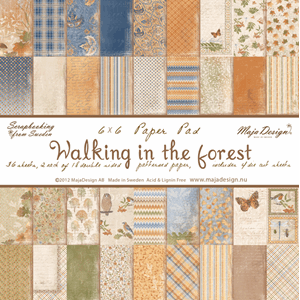 Maja Design: Walking in the forest Paper Pad, 6x6