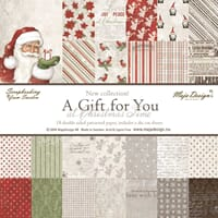 Maja Design: A Gift for You Paper Pad 6x6- At Christmas Time