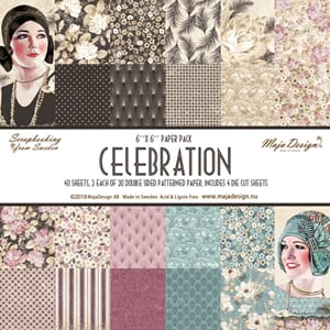 Maja Design: Celebration Paper Pad, 6x6