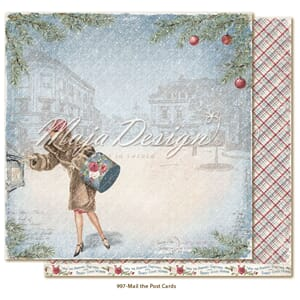 Maja Design: Mail the postcards - Christmas Season