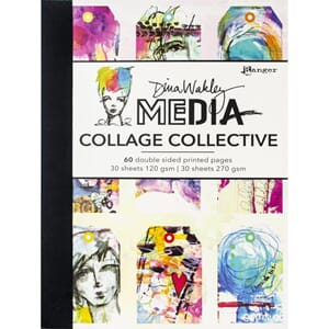 Dina Wakley: Media Mixed Media Collage Collective