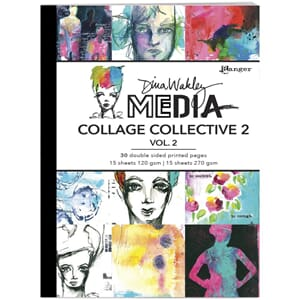Dina Wakley: Mixed Media Collage Collective Vol 1