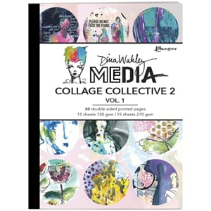 Dina Wakley: Mixed Media Collage Collective Vol 2