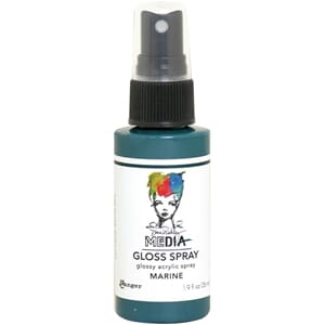 Dina Wakley: Marine - Media Gloss Sprays, 2oz