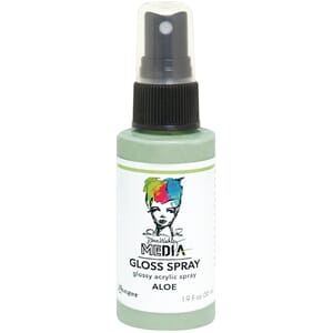 Dina Wakley: Aloe - Media Gloss Sprays, 2oz