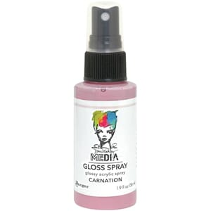 Dina Wakley: Carnation - Media Gloss Sprays, 2oz