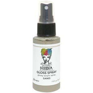 Dina Wakley: Sand - Media Gloss Sprays, 2oz