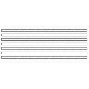MFT: Skinny Stripes - Horizontal Die-namics