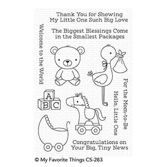 MFT: Hello, Little One Clear Stamps, 4x6 inch
