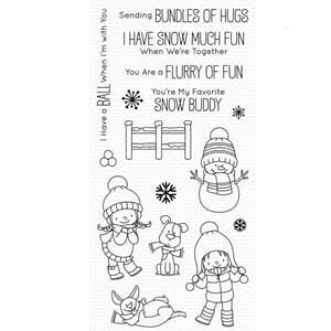 MFT: Snow Buddies Clear Stamps, 4x8 inch
