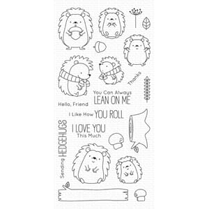 MFT: Happy Hedghogs Clear Stamps