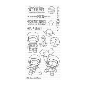 MFT: Space Explorer Clear Stamps, 4x8 inch