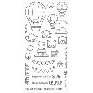 MFT: Up in the Air Clear Stamps