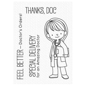 MFT: Doctor's Orders Clear Stamps, 4x4 inch